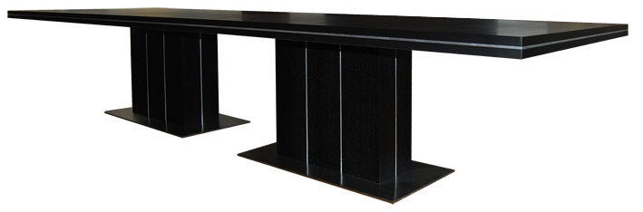 Oversize dining table