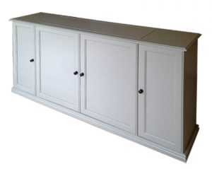 TV cabinet with lift