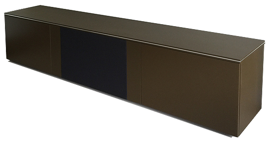 TV cabinet in custom painted finish