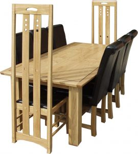 Charles Rennie Mackintosh dining suite
