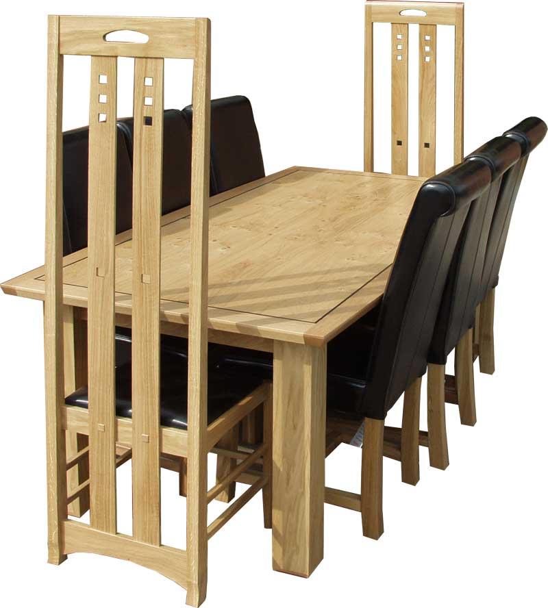 Charles Rennie Mackintosh dining suite