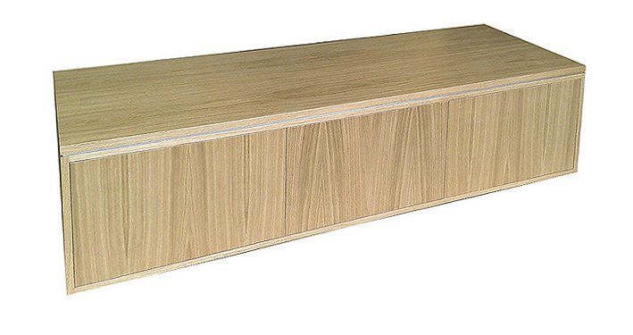 Bespoke Oak AV Media Cabinet