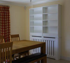 Aston radiator bookcase