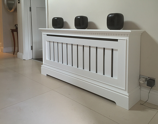 Bespoke radiator covers by SPK cabinetmaking