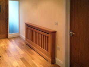 oak radiator cover