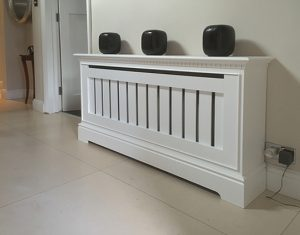 slatted radiator grille