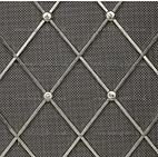 Diamond shaped radiator grille