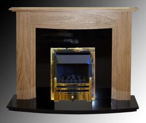 Havanna fire surround in oak