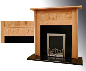 Hearth & home fire surround