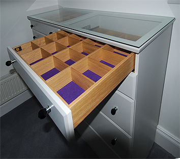 Bespoke drawer unit