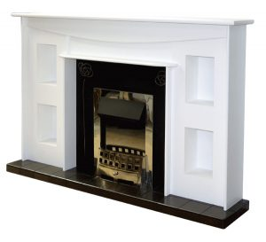 Mackintosh style fireplace