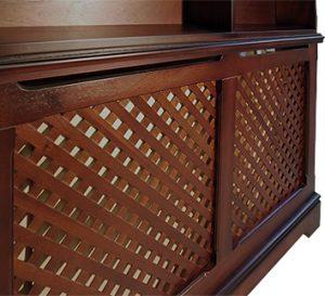 Meriden radiator bookcase
