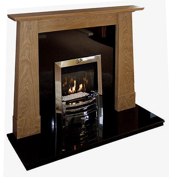 Ruskin fire surround