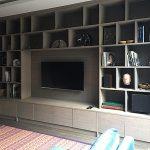 TV and AV wall unit