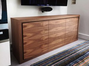 American black walnut TV cabinet