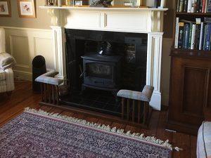 Bespoke oak fender seat