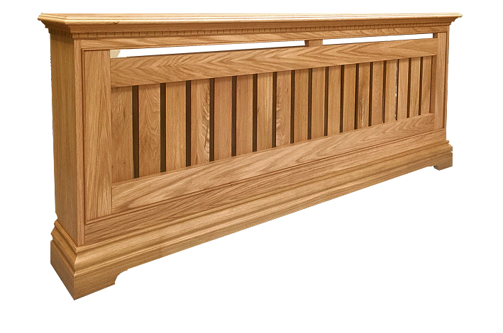 OAK RADIATOR COVER