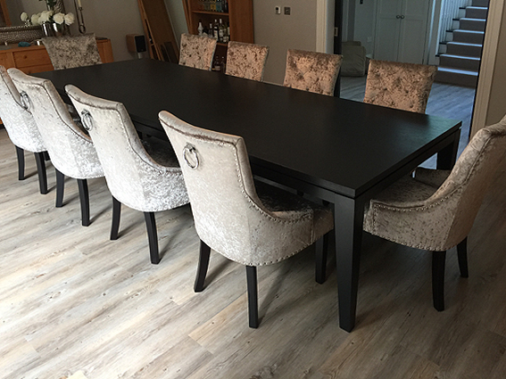 Black-oak-dining-table
