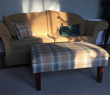bespoke footstool