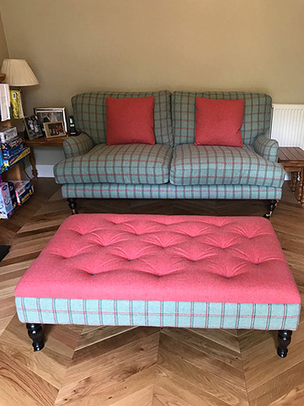Made to measure footstool