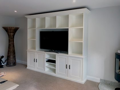 TV entertainment wall unit