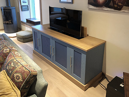 TV lift cabinet in Cornwall