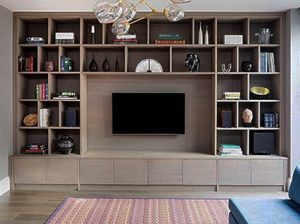 Bespoke tv wall unit
