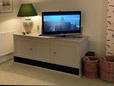CORNER TV LIFT CABINET WITH SWIVEL