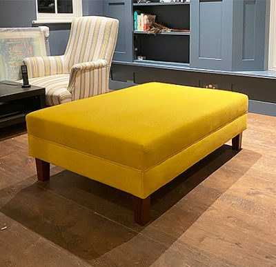 yellow footstool 2